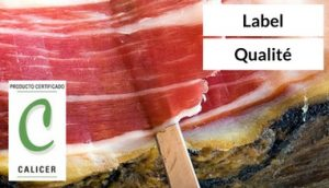 Label qualité Calicer - Pata Negra Prestige